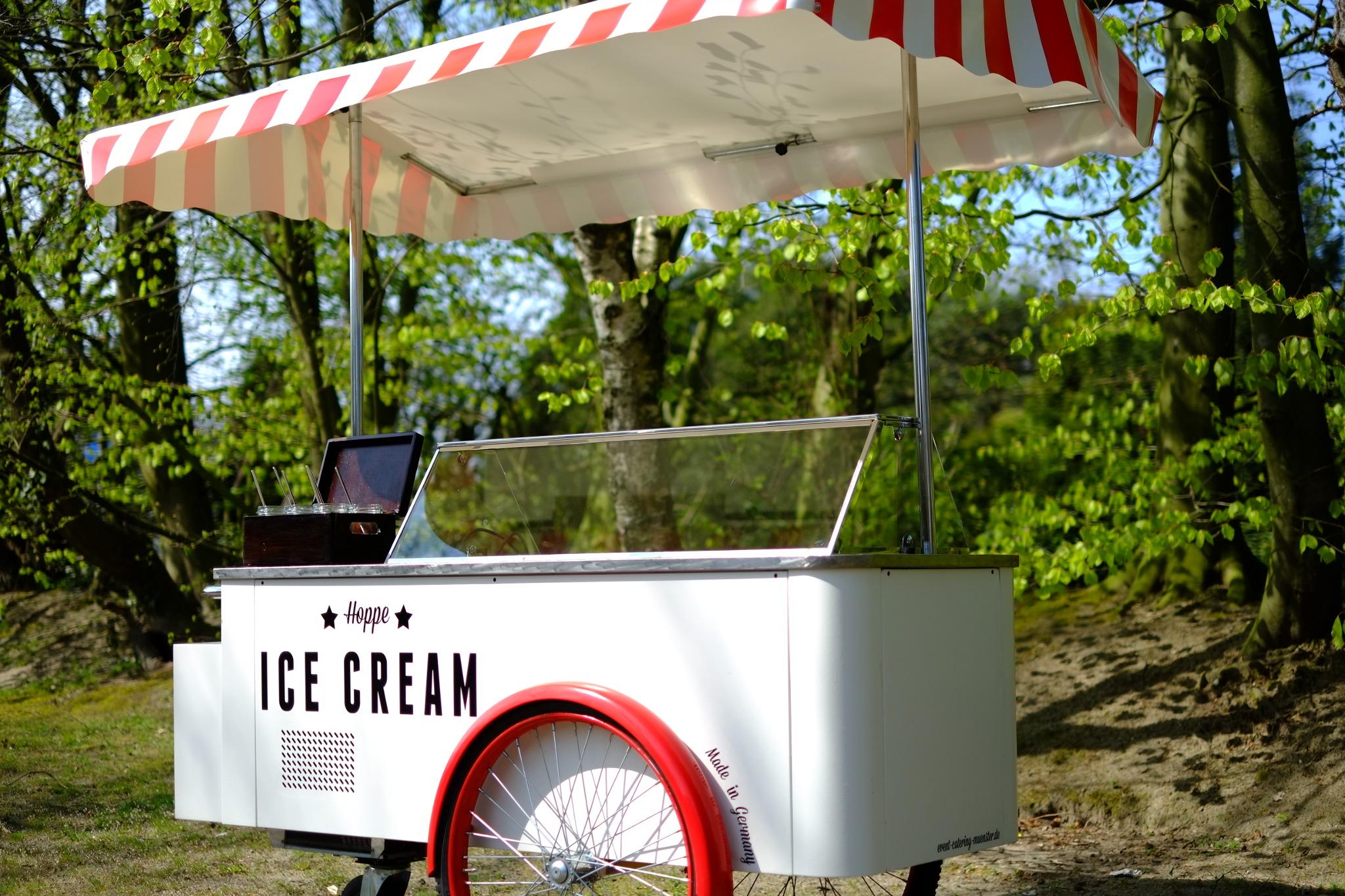 Eiswagen Eisfahrrad